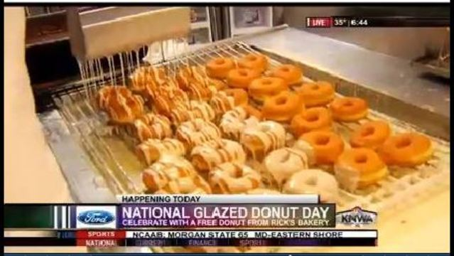 National Glazed Donut Day Celebrated By Local Bakery