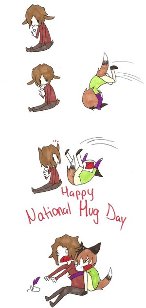 Celebrate National Hugging Day With History's Most Enthusiastic Huggers