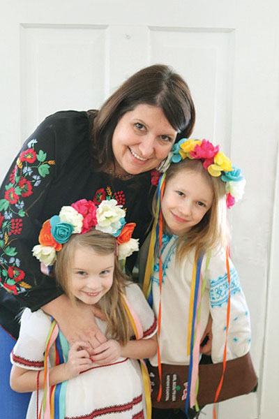 Girl Scout troop honors Ukraine at World Thinking Day