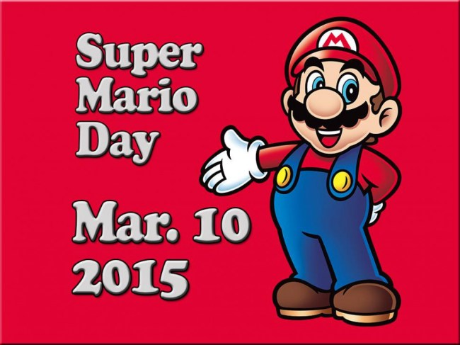 Mario Day - internationale dag voor de bekendste video game held