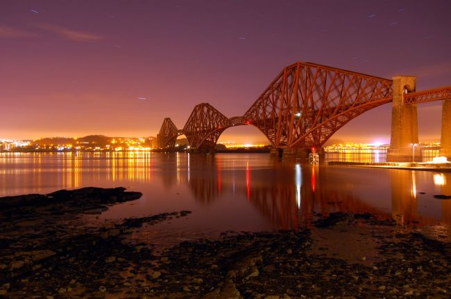 The Forth Rail Bridge: Stunning pictures of one of Scotland's most iconic symbols