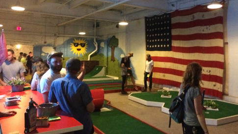 Tournament Celebrates National Miniature Golf Day