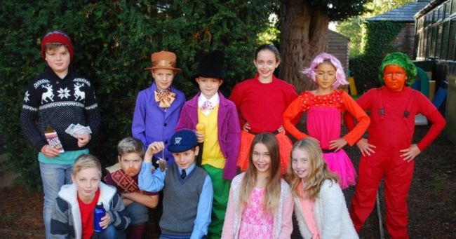 Pupils celebrated Roald Dahl Day with performances, creative tasks and ...