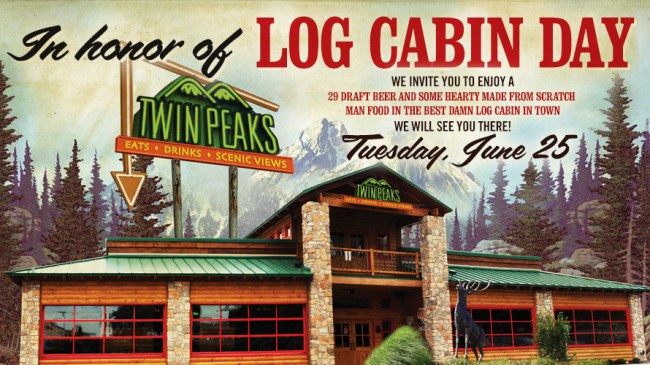 Log Cabin Day set for June 20