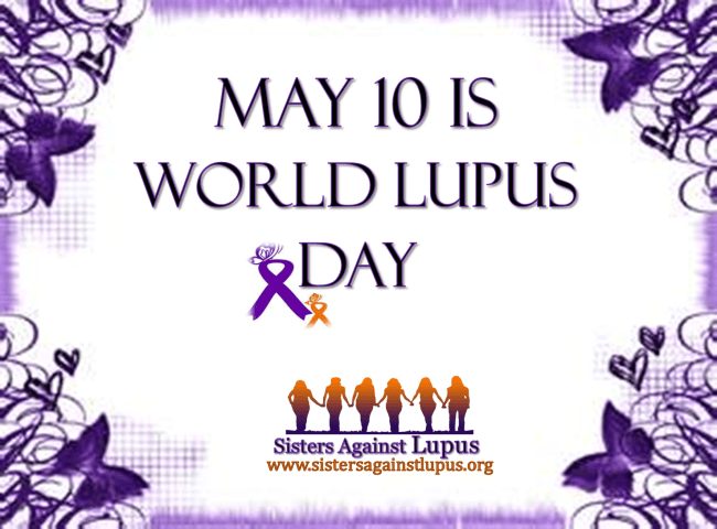 World Lupus Day is May 10