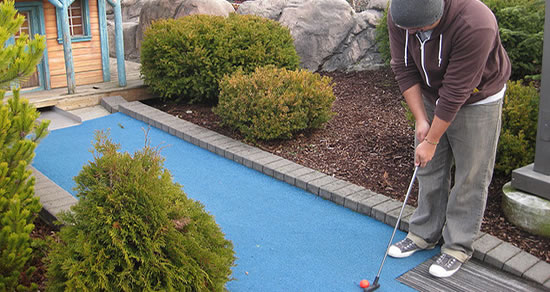 Miniature Golf Day