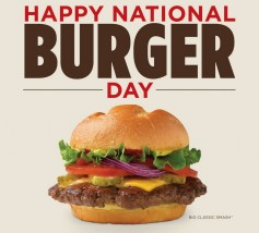 Frog burgers? It's National Burger Day... on the other side of the ocean