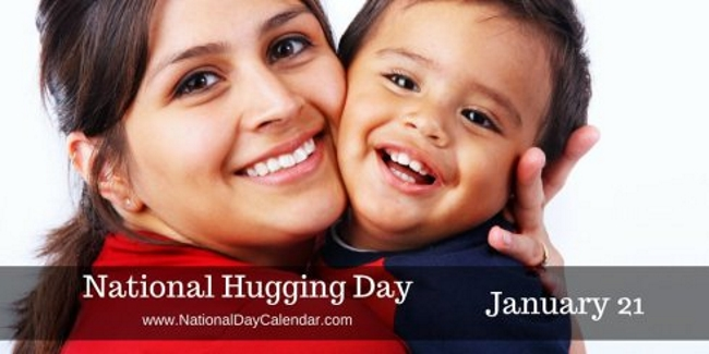 Today Is: National Hugging Day