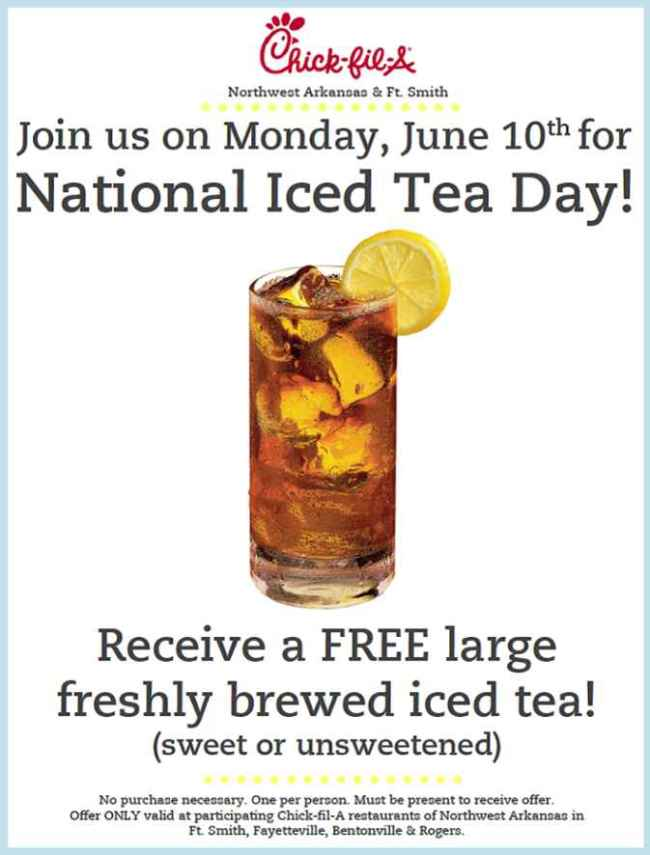 Teavana Invites Customers to Celebrate National Iced Tea Day, June 10, with a ...