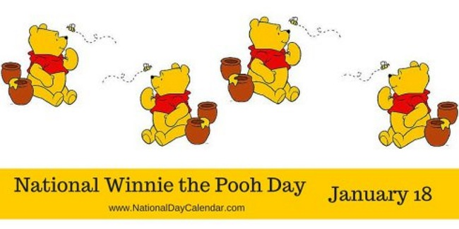 Today Is: National Winnie The Pooh Day