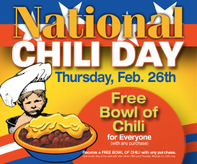 Gold Star celebrates 50 years on National Chili Day
