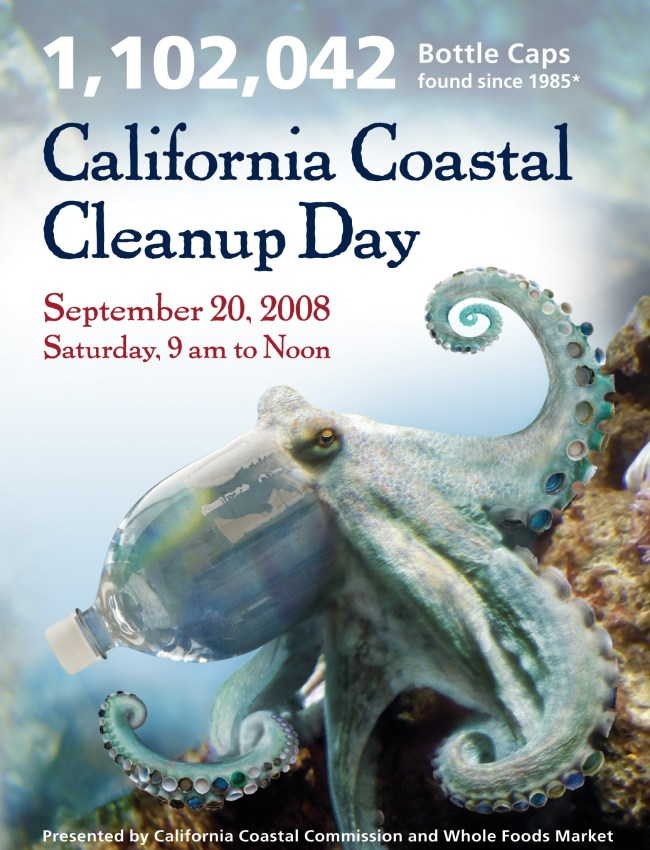 Want to help clean up the beaches? Statewide Coastal Cleanup Day is Saturday