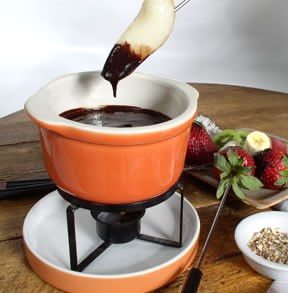 Today is national chocolate fondue day!
