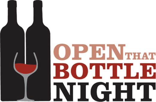 Fun idea: Open that bottle night