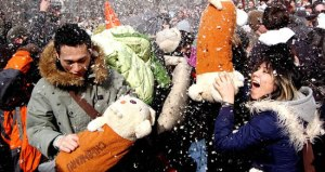 Pillow Fight Day