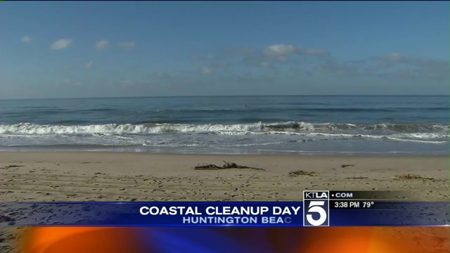 Nearly 10000 volunteers turn out for Coastal Cleanup Day