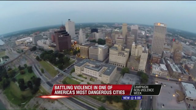 Violent day in Memphis on International Day of Peace
