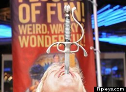 World Sword Swallowers Day On Feb. 22 Puts A Sharp Focus On Blade Biting