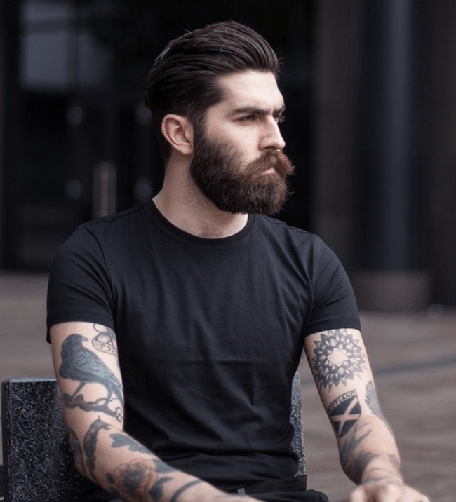 World Beard Day: Scots model Christopher Millington is famous worldwide for ...