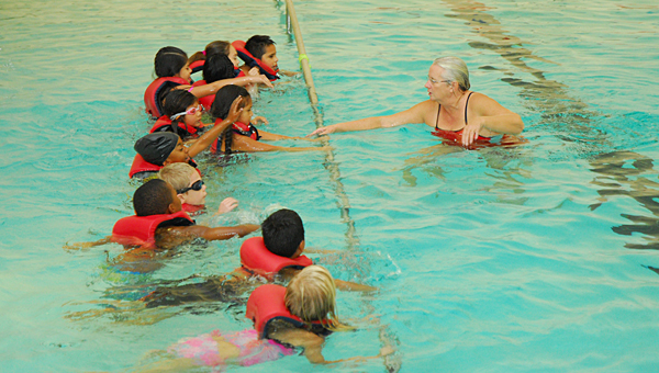 'It's about saving lives:' City's second-graders learn to swim