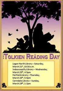Queensland fans come celebrate Tolkien Reading Day!