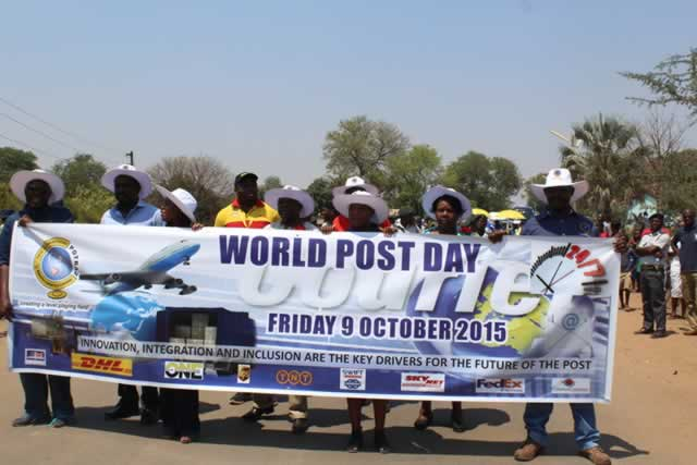 Zim marks World Post Day
