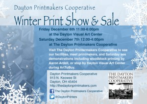 2013 Winter Print Show and Sale