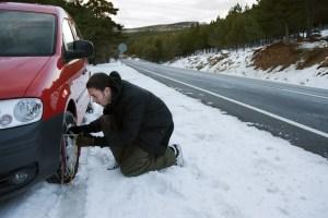 Winter Driving Image
