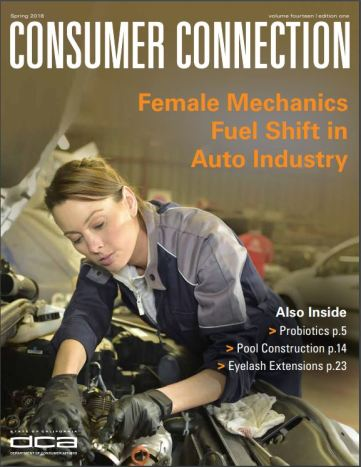 Click here to read the spring 2018 edition of Consumer Connection magazine.