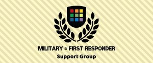 Active Duty/First Responder Support Group banner