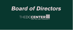 The DC Center Board announces Kimberley Bush as Interim Executive Director