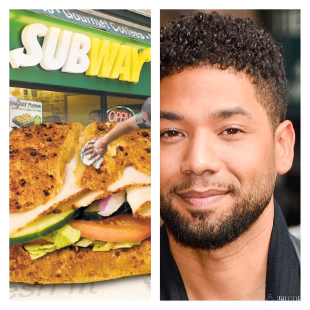 Image result for subway jussie smollett
