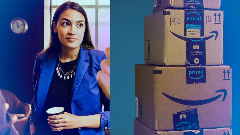 Amazon Cancels New York HQ2, Ocasio-Cortez Celebrates Losing 25,000 Jobs