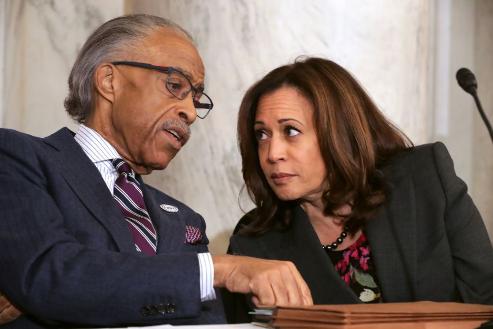 Kamala Harris Urges the Supreme Court to Side on Feelings