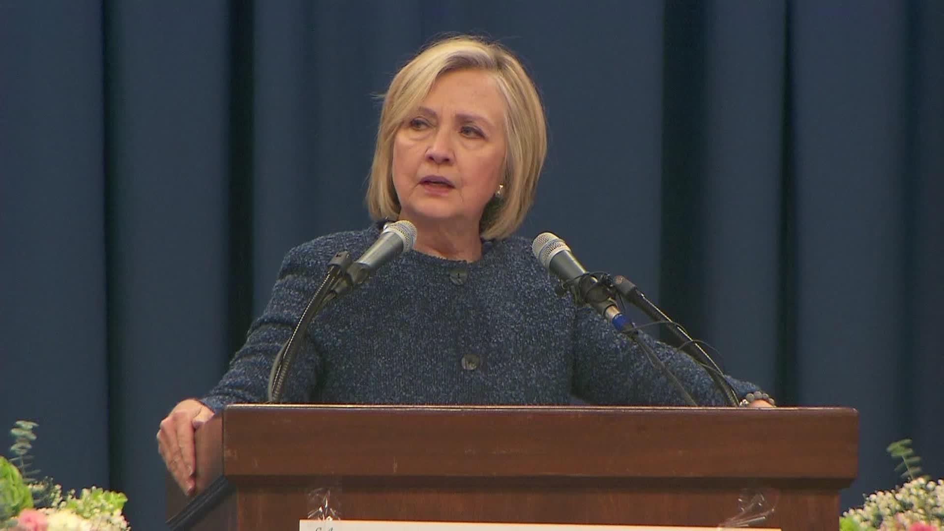 Hillary Clinton Say 'No' to 2020 Presidential Run