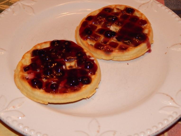 Huckleberry syrup!