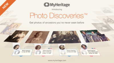 MyHeritage Launches Photo Discoveries