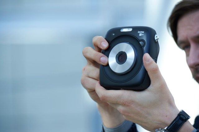 Fujifilm Announces The New Instax Square SQ10, A Hybrid Instant Film Camera