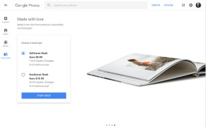 Google Photos UI