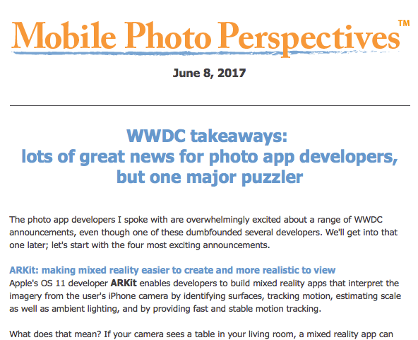 WWDC takeaways: lots of great news for photo app developers, but one major puzzler
