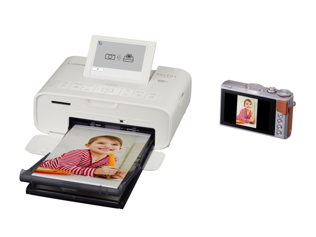 Canon U.S.A. Introduces New SELPHY CP1300 Wi-Fi Enabled Printer