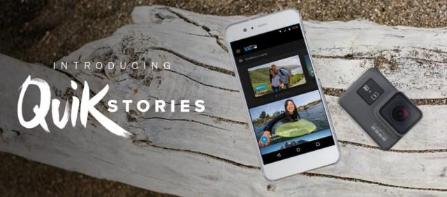 GoPro QuickStories