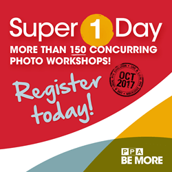 Super 1 Day Photography Workshop registration now open for Fall 2018