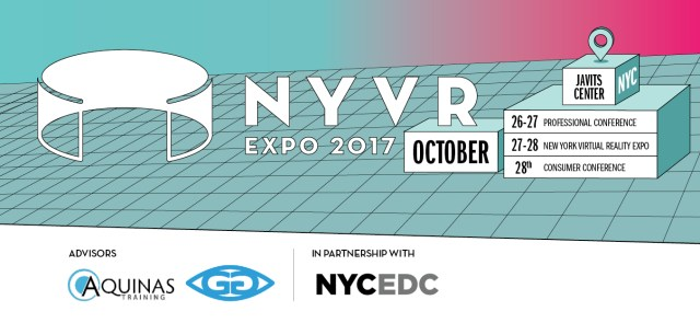 Emerald Expositions and NYCEDC Announce New York City's First Large Scale Virtual Reality Conference + Expo
