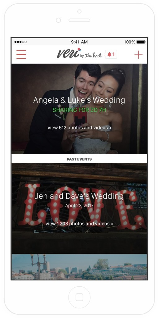 XO Group Acquires Photo-Sharing App Veri, Offering First-Ever Mobile Autoshare Technology For Wedding Day Photos