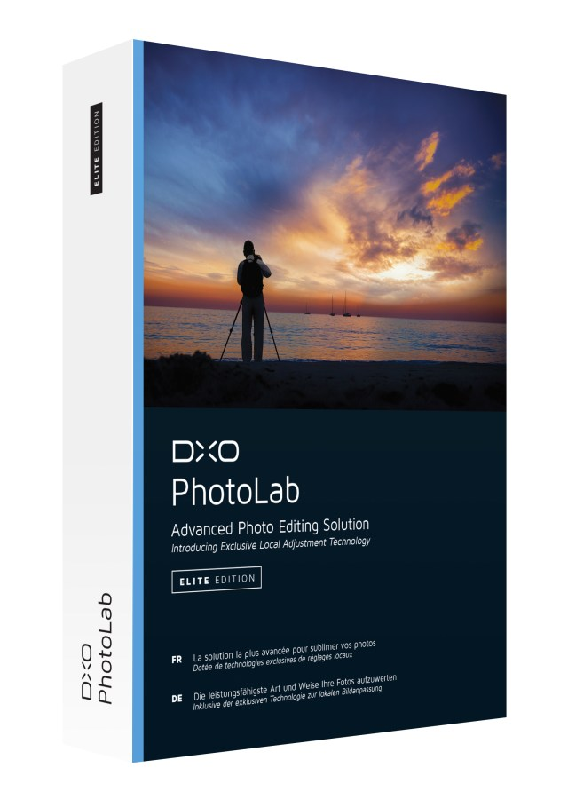 U Point® local adjustment technology now available in DxO OpticsPro RAW converter, which becomes DxO PhotoLab