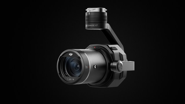 DJI Reveals Zenmuse X7, The World's First Super 35 Digital Film Camera Optimized for Professional Aerial Cinematography