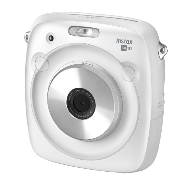 "Fujfilm to release Hybrid instant camera ""instax SQUARE SQ10 WHITE"""