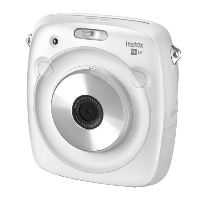 "Fujfilm to release Hybrid instant camera ""instax SQUARE SQ10 WHITE"""