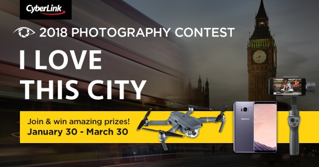 "CyberLink announces ""2018 I Love This City"" photography contest"